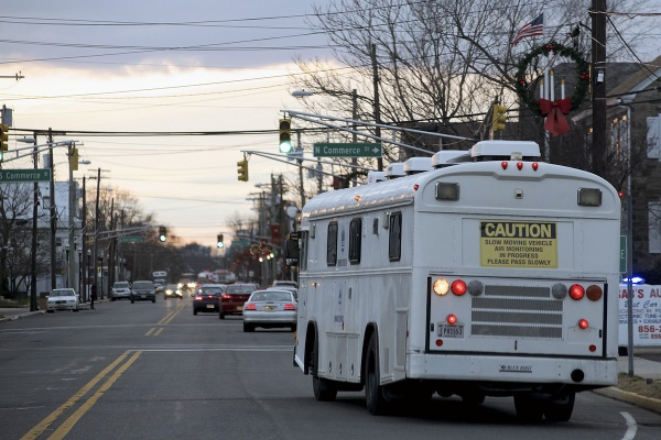 <p>&lt;p&gt;An air monitoring vehicle moves slowly over Delaware St. in Paulsoboro, N.J. (Bas Slabbers/for NewsWorks)&lt;/p&gt;</p>