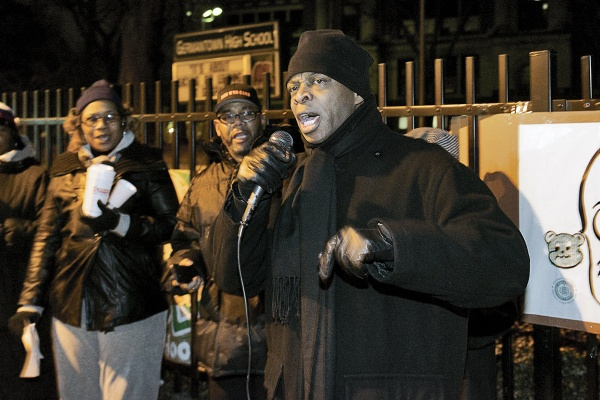 "<p><p>State Rep.-elect Stephen Kinsey told those in attendance, ""We can have the passion but it won't mean anything without the action."" (Bas Slabbers/for NewsWorks)</p></p>"