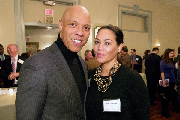 <p><p>Philadelphia School District Superintendent Dr. William R. Hite and, his wife, Deirdre Francos Hite. (Bas Slabbers/for NewsWorks)</p></p>