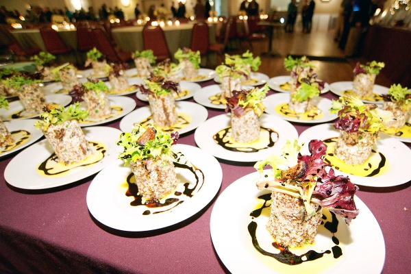 <p><p>Earth, Breath + Brewery, Avenida, Geechee Girl Rice Café, Trolley Car Diner and Little Jimmie's Bakery Café provided food for the event. This is the quinoa salad with figs by Earth, Bread + Brewery. (Bas Slabbers/for NewsWorks)</p></p>
