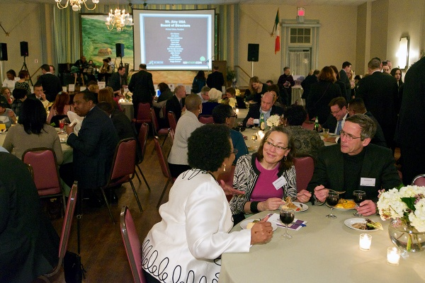 <p><p>'Guess Who's Coming To Dinner?' is held at the Commodore Barry Club. (Bas Slabbers/for NewsWorks)</p></p>