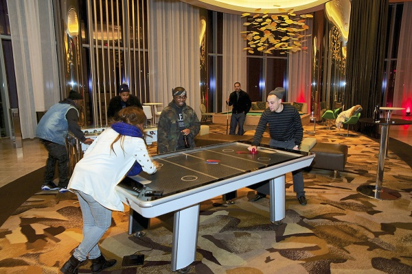 <p><p>Air hockey time in the Revel casino. (Bas Slabbers/for NewsWorks)</p></p>