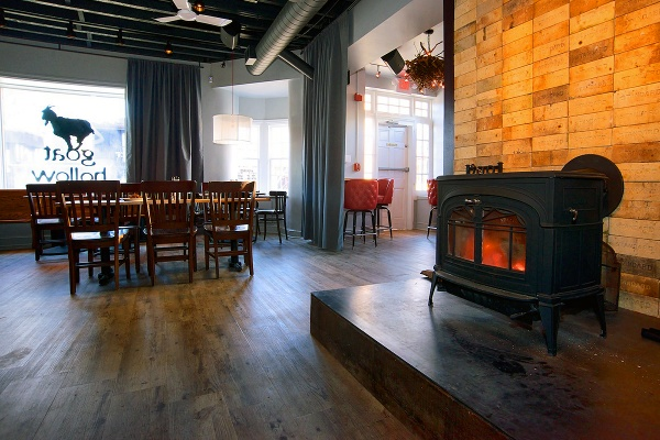 <p>&lt;p&gt;The centerpiece of the first floor is a hearth with a wood-burning stove. (Bas Slabbers/for NewsWorks)&lt;/p&gt;</p>