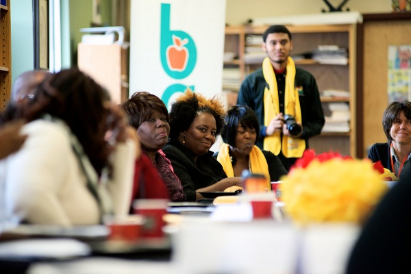 """<p><p>""""Until we put the power in the hands of the parents, we are going to continue falling to the status quo,"""" said BAEO chapter president Darlene Callands.(Bas Slabbers/for NewsWorks)</p></p>"""