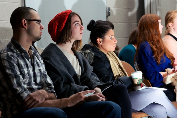 <p>&lt;p&gt;The Design X Fashion Show crowd takes in the students' designs. (Bas Slabbers/for NewsWorks)&lt;/p&gt;</p>