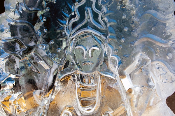 <p><p>One of the 27 ice sculptures along Main Street on Saturday. (Bas Slabbers/for NewsWorks)</p></p>