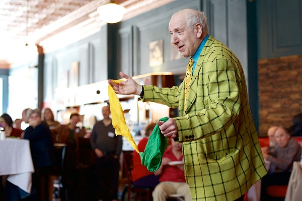 <p>&lt;p&gt;Neil the Magician, a lawyer by day, performs tricks to entertain both young and old. (Bas Slabbers/for NewsWorks)&lt;/p&gt;</p>