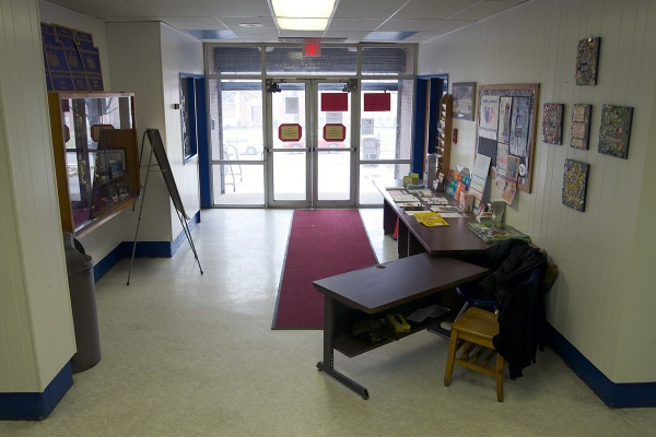 <p><p>Principal Karen L. Thomas says the new safety measures will help to keep track of everyone entering the school. (Bas Slabbers/for NewsWorks)</p></p>