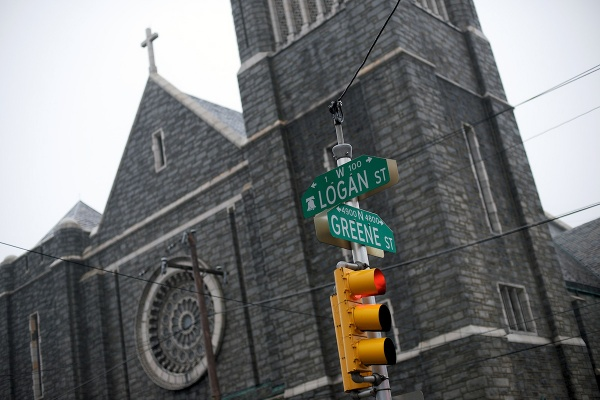 <p><p>The church is located on the corner of Logan and Greene streets in Germantown. (Bas Slabbers/for NewsWorks)</p></p>