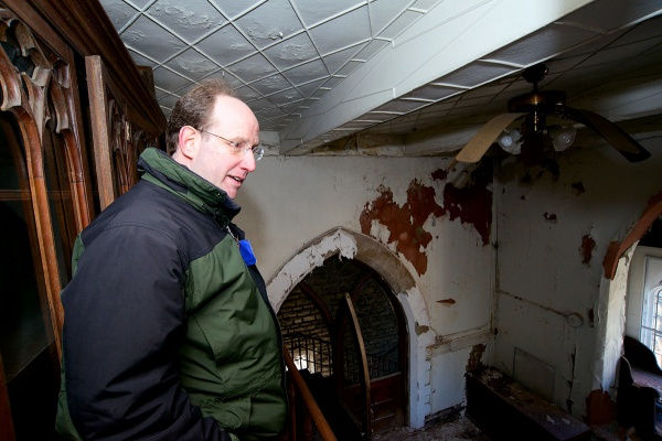 "<p><p>""The answer is, no, I don't need another surplus church property. But Waldorf comes and says, 'We found this wonderful property; would you buy it and rehab it?' It had my name on it,"" Weinstein said. (Bas Slabbers/for NewsWorks)</p></p>"