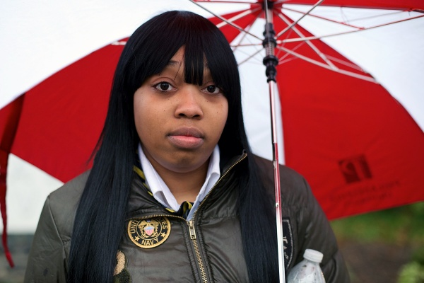 <p><p>Erica Cody is a security officer with McGinn Security at Philadelphia University. (Bas Slabbers/for NewsWorks)</p></p>