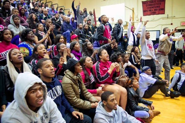 <p>&lt;p&gt;Imhotep supporters who stuck around to watch the second semifinal were cheering for MLK, which would have set up an all-Northwest Philly title game on Sunday. (Bas Slabbers/for NewsWorks)&lt;/p&gt;</p>