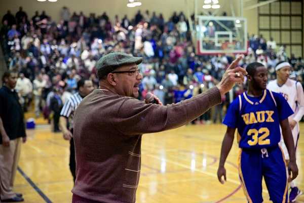 <p>&lt;p&gt;PIAA Executive Director and District 12 Chairman Robert Coleman asks the crowd to remain seated. It didn't help, as the game was riveting. (Bas Slabbers/for NewsWorks)&lt;/p&gt;</p>