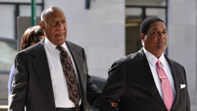 Bill Cosby arrives at Montgomery County Courthouse