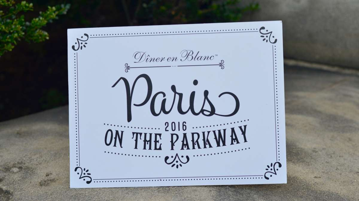 Paris on the Parkway is the theme for the fifth annual Dîner en Blanc.