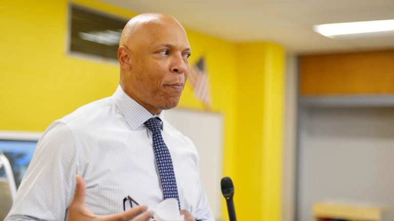 School District of Philadelphia Superintendent Dr. William Hite (Bastiaan Slabbers for WHYY)