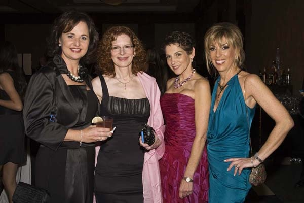 <p><p>Living Beyond Breast Cancer supporters Denise Portner (left), Cybile Silver, Lynn Marks, and Andi Morris (Photo courtesy of Zoey Sless-Kitain)</p></p>