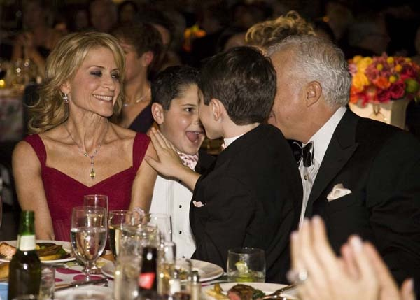 <p><p>Dr. Debra Somers Copit, a radiologist at Einstein and recipient of the Founder's Award, her husband, Steve Copit, and their sons, Scott and Robbie (Photo courtesy of Zoey Sless-Kitain)</p></p>