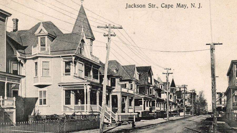 The Inn at 22 Jackson Street in Cape May. (Richard Gibbs Collection)