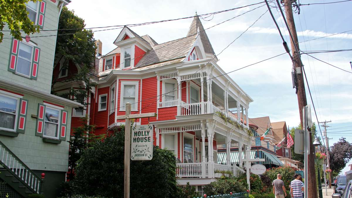 Today the Inn remains on Jackson Street under a new name, The Red Cottage. (Emma Lee/WHYY)