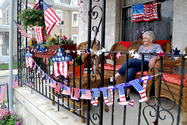 Manayunk and Roxborough residents are preparing for Thursday's parade through Roxborough. (Sean Smith and Kayla Cook of Philadelphia Neighborhoods/for NewsWorks)