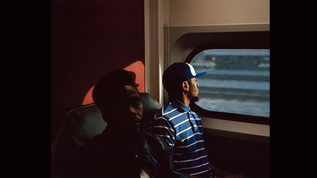 Morning Commute, Septa R5 (Photography by Hannah Price)