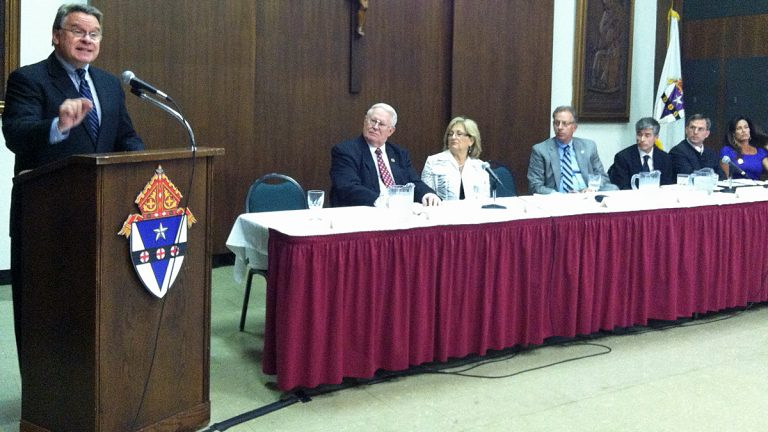Congressman Chris Smith of New Jersey, co-chairman of the House Pro-Life Caucus, attended a forum in Philadelphia on Friday about the