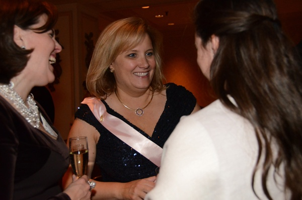 <p>&lt;p&gt;Lydia D. Butcher, vice president of the board of directors, chats with friends. (Photo courtesy of Sabina Louise Pierce)&lt;/p&gt;</p>