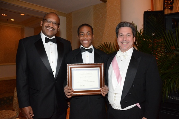 <p>&lt;p&gt;Bryan Carter (left), President and CEO of Gesu School, 7th&#xA0;grader and recipient of the Bryn Mawr Trust Philadelphia Charity Ball Scholarship Kharon Randolph, and Charity Ball board member Andrew Camerota from Bryn Mawr Trust (Photo courtesy of Sabina Louise Pierce)&lt;/p&gt;</p>