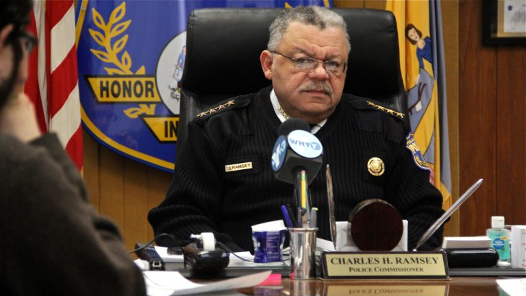 Philadelphia Police Commissioner Charles Ramsey says the promise  to end stop-and-frisk