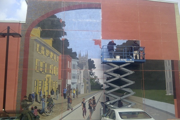 <p>&lt;p&gt;The concept for the mural was created with input from numerous Germantown residents. (Brian Hickey/WHYY)&lt;/p&gt;</p>