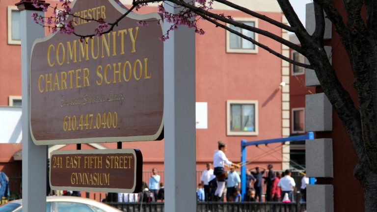 Chester Community Charter School.  (Emma Lee/WHYY)