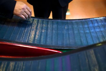 Hanergy Group, the Chinese company that bought MiaSole, a California producer of thin-film solar panels, in January said it can make a success of the emerging technology where others have suffered huge losses. The nation is now  rethinking the incentives it pumps into its solar industry. (AP Photo/Alexander F. Yuan)
