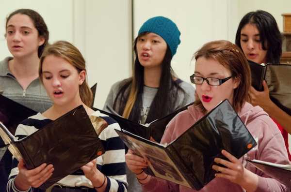 "<p><p>Next week, Girlchoir will join with the Keystone State Boychoir for their ""Holiday Concert on the Square"" in Center City. (Courtesy of Girlchoir)</p></p>"