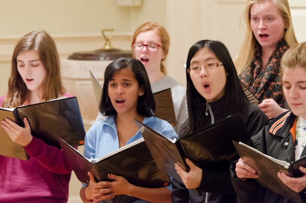 "<p><p>""It's a combination of being fun, challenging, motivating, whether it be vocal or musically very challenging,"" says Vincent Metallo, music director for Girlschoir.</p></p>"