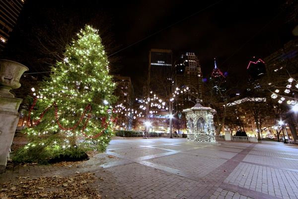 <p>&lt;p&gt;Philadelphia's Rittenhouse Square, at 18th and Walnut streets, is decorated with a Christmas tree and a menorah and lights throughout the park.&#xA0;(Nathaniel Hamilton/for NewsWorks)&lt;/p&gt;</p>
