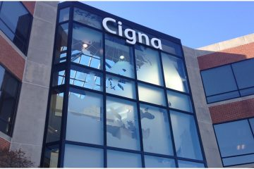 Cigna offices in Wilmington (Shana O'Malley/for NewsWorks)