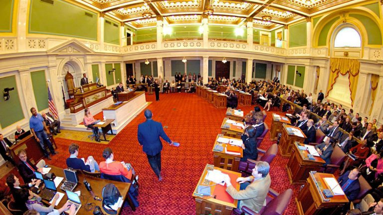 Philadelphia City Council in session. (Bas Slabbers/for NewsWorks. file)