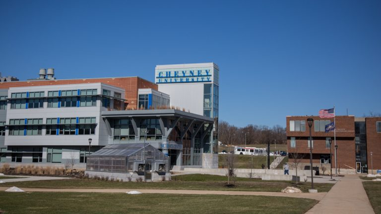Cheyney University of Pennsylvania is a public, co-educational historically black university that is a member of the Pennsylvania State System of Higher Education. (Emily Cohen for NewsWorks, file)