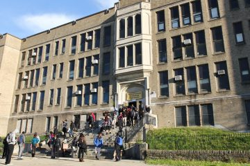 Communications Technology High School in Southwest Philadelphia is one of the schools that will not reopen in the fall. (Kimberly Paynter/WHYY, file)