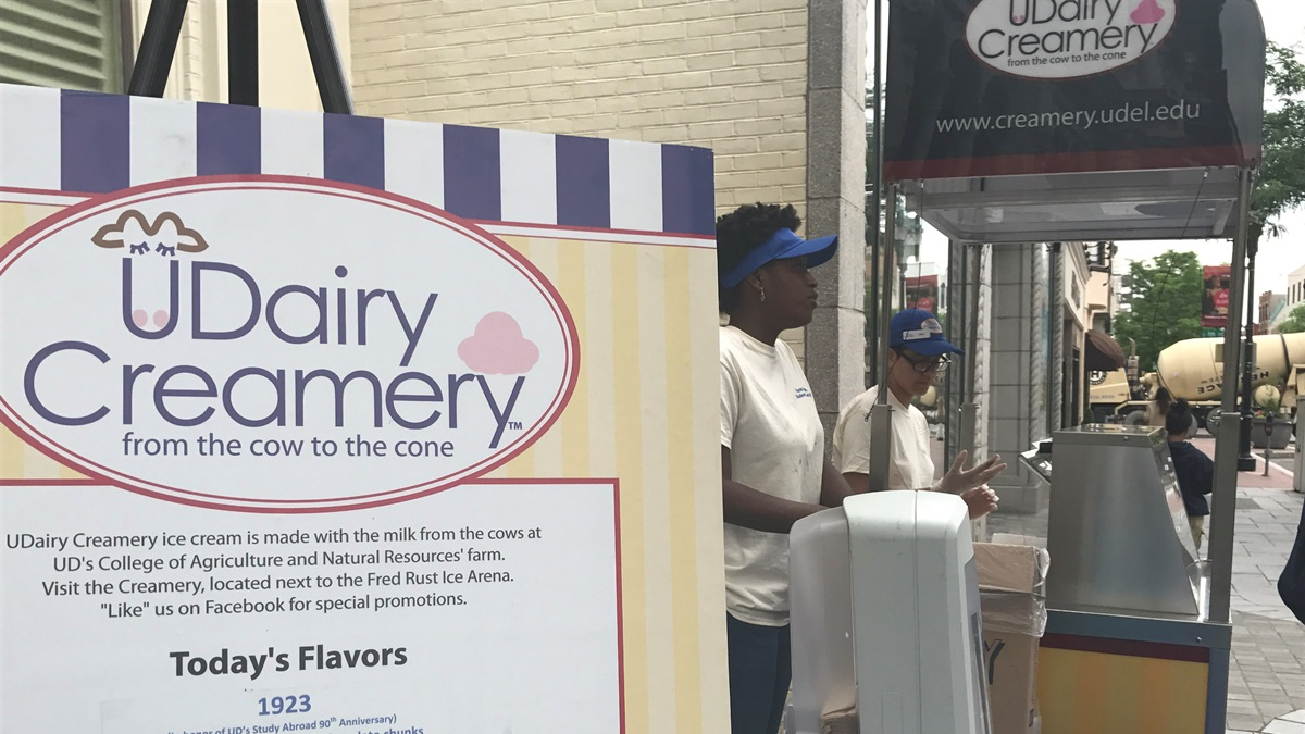 Ud Study Abroad >> Udairy Creamery Comes To Wilmington Video Whyy
