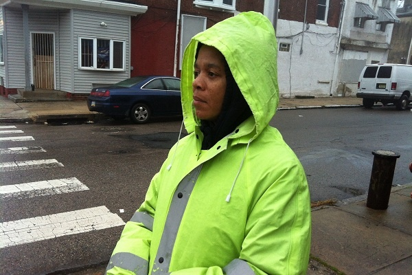 <p><p>Last year, a young student was struck by a vehicle a block away from Taylor's post. This year, a new guard has been assigned at that troubled intersection. (Kiera Smalls/for NewsWorks)</p></p>