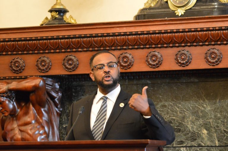Philadelphia Councilman Curtis Jones has introduced a bill that would mandate landlords in gentrifying neighborhoods give  residents six months' notice before eviction. (NewsWorks file)