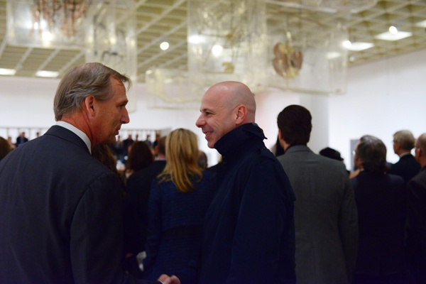 <p>&lt;p&gt;Philadelphia Museum of Art CEO Timothy Rub (left), and artist and exhibition designer of &quot;Dancing around the Bride,&quot; Philippe Parreno (Photo courtesy of Kelly &amp; Massa Photography)&lt;/p&gt;</p>