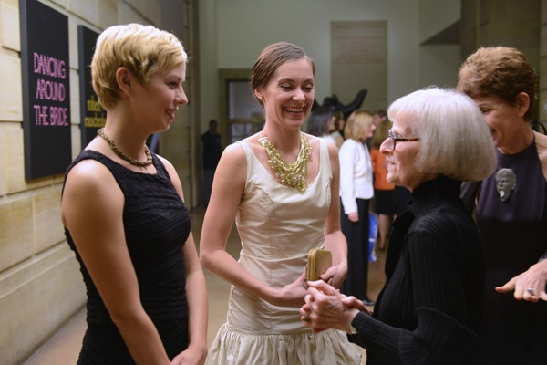<p>&lt;p&gt;Dancers from the former Merce Cunningham Dance Company, Marcie Munnerlyn (left) and Melissa Toogood, with Art Museum trustee&#xA0;Angelica Rudenstine of Princeton, NJ (Photo courtesy of Kelly &amp; Massa Photography)&lt;/p&gt;</p>