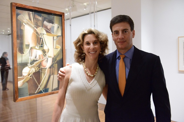 <p>&lt;p&gt;Jaimie Field, Philadelphia Museum of Art trustee (left), and her husband David, stand in front of Marcel Duchamp's 1912 painting, &quot;Bride.&quot; (Photo courtesy of Kelly &amp; Massa Photography)&lt;/p&gt;</p>