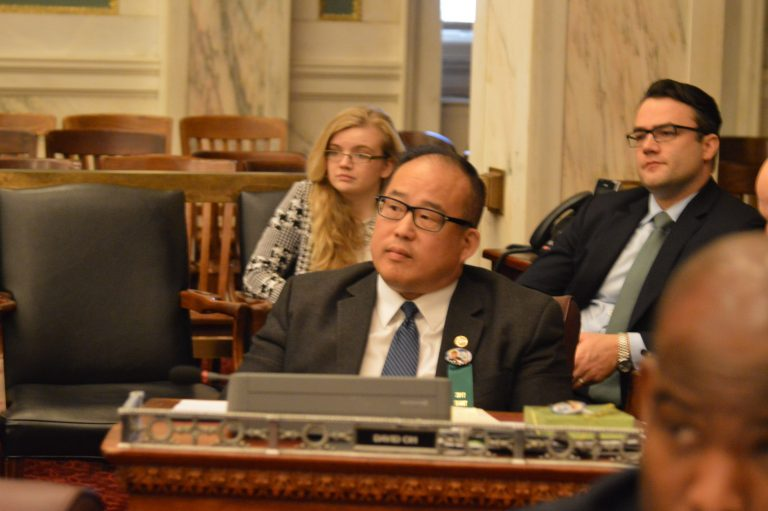 Councilman David Oh's resolution to honor a prosecutor involved in the 'Porngate' scandal raised objections, eyebrows. (Tom MacDonald/WHYY)