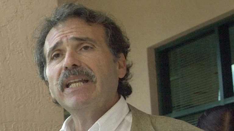 David Pecker, CEO of American Media Inc., which publishes The national Enquirer, is shown in December 2001. (AP Photo/Marta Lavandier, file)