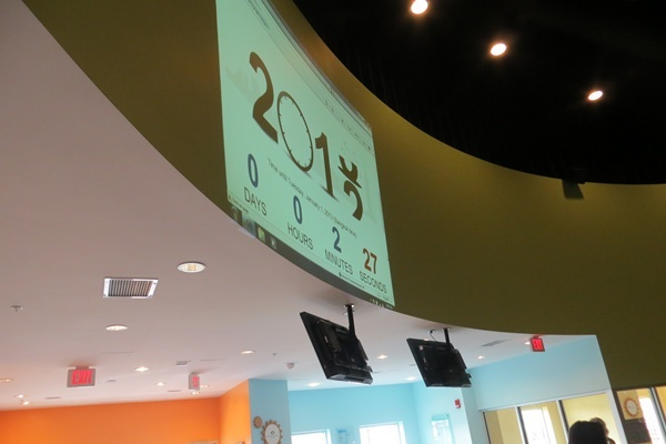 <p><p>Delaware Children's Museum's big countown clock (Shirley Min/WHYY)</p></p>