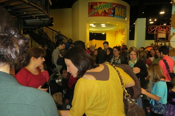 <p><p>Dozens turned out for Delaware Children's Museum New Year's Eve celebrations (Shirley Min/WHYY)</p></p>